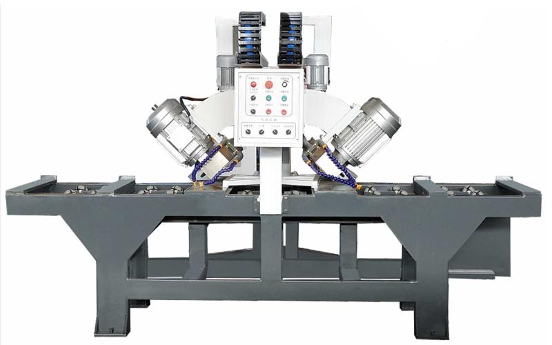 CHAMFER CUTTING MACHINE FOR BOTH SIDE ZD-TM2500B