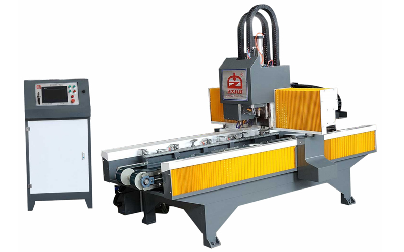 HOLE DRILLING MACHINE WITH SINGLE WORKTABLE ZD-TM750D